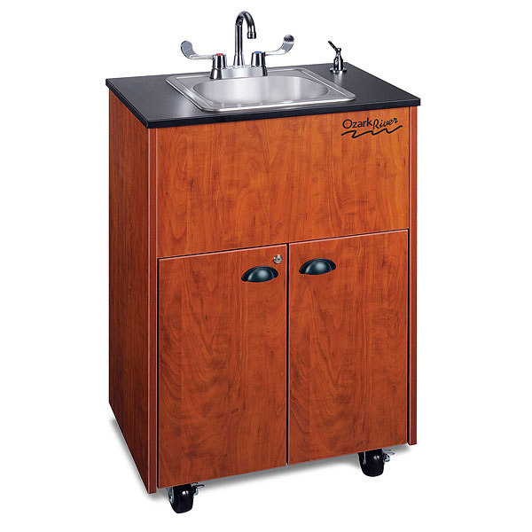 Ozark River Portable Sink Premier 1 Cherry