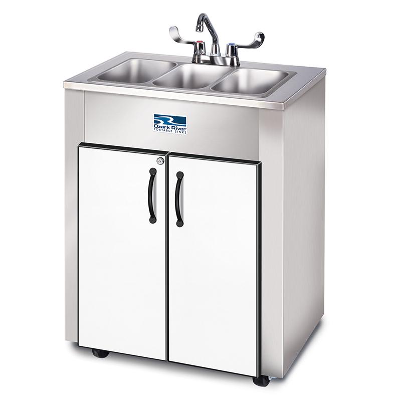 Ozark River Elite LS 3 Portable Sink Stainless Steel Cabinet
